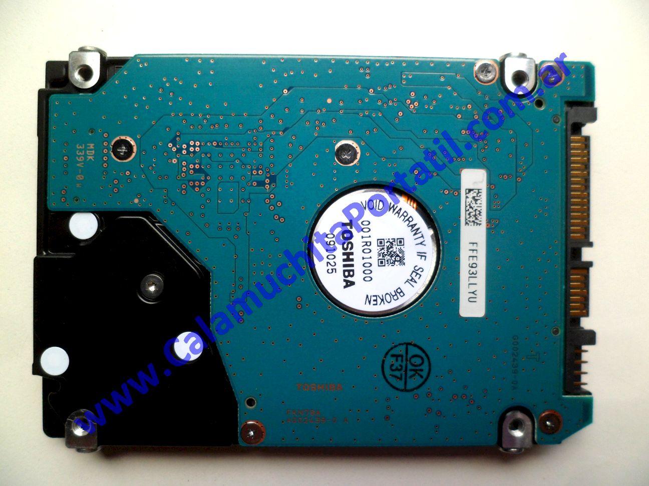 0439HDA Disco Rígido Hewlett Packard G60 244DX / NM342UA#ABA