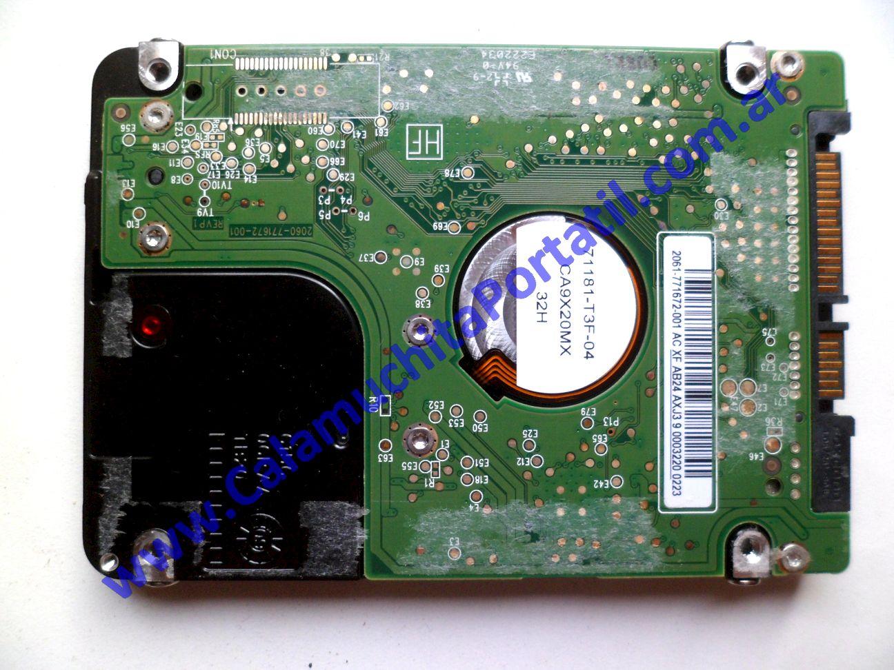 0442HDA Disco Rígido Acer Aspire One D260-2059 / NAV70