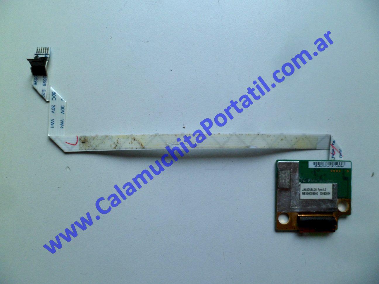 0443PFP Placa FingerPrint Hewlett Packard Pavilion dv4-1213la / NL277LA#ABM