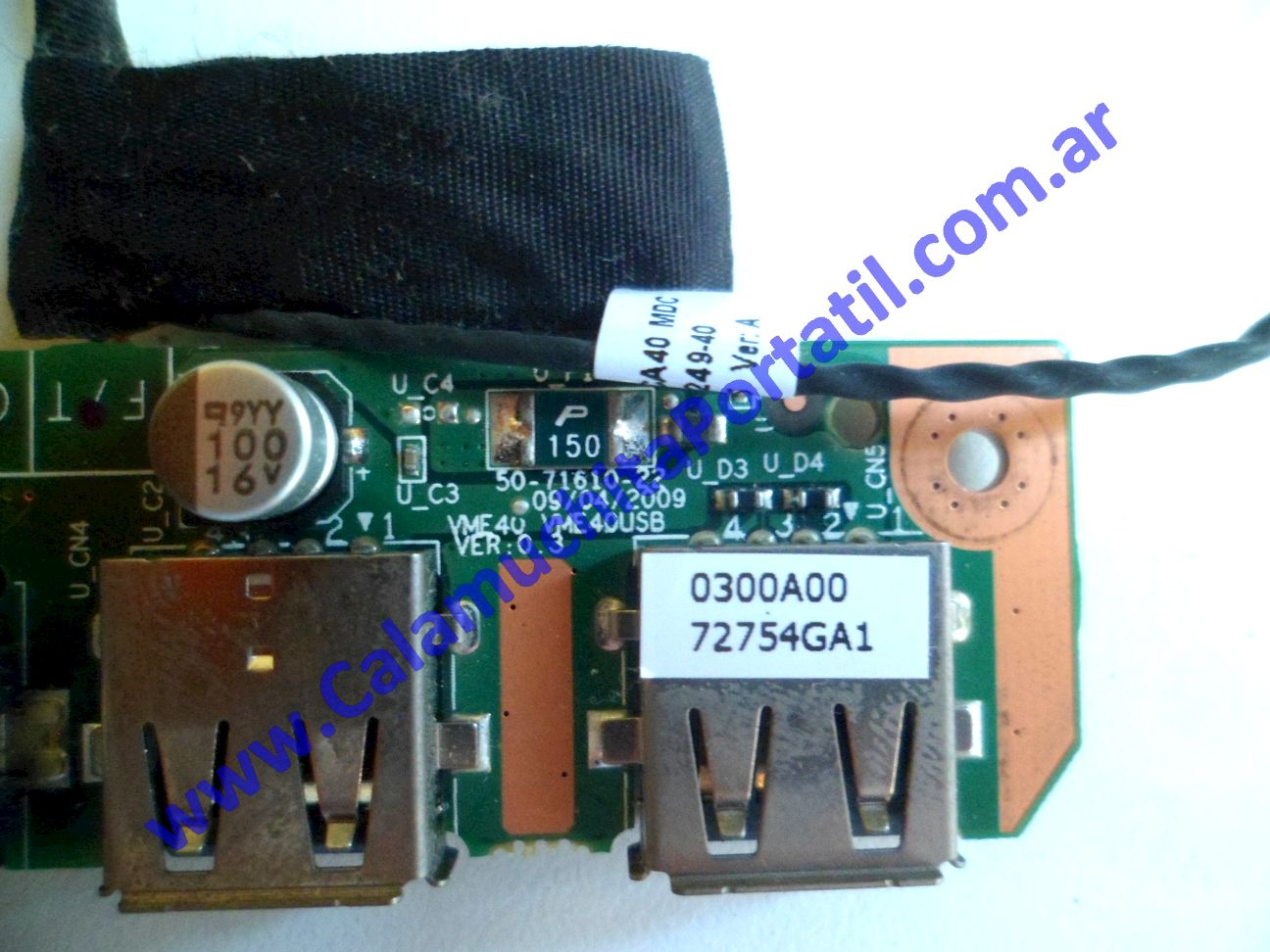 0473PUS Placa USB Commodore KE-8327-MB