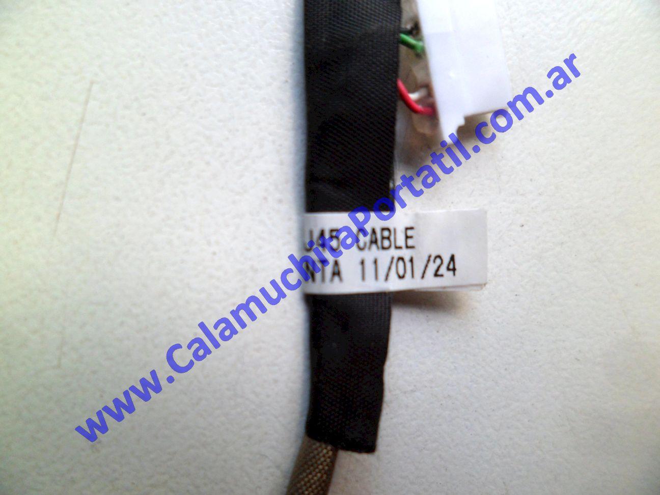 0475JLA Conector Lan Toshiba NB505-SP0110A / PLL50U-008AR1