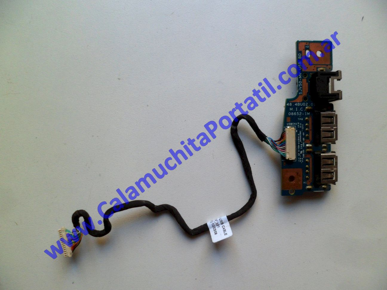 0478PUS Placa USB Gateway NV53 / MS2285