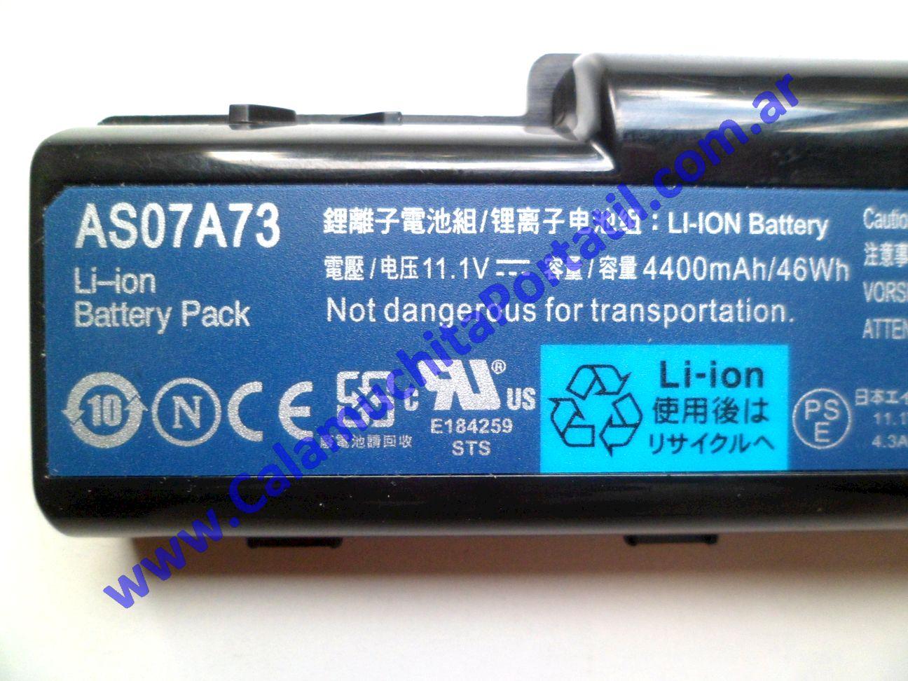 0479BAA Batería Acer Aspire 5536-5889 / MS2265