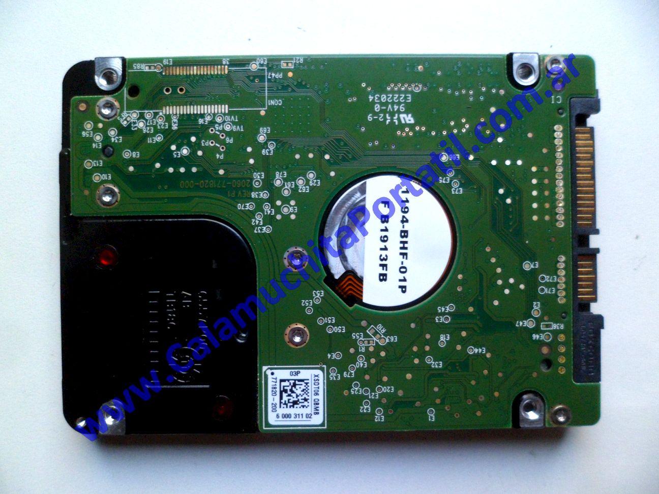 0480HDA Disco Rígido Lenovo B570 / 20093