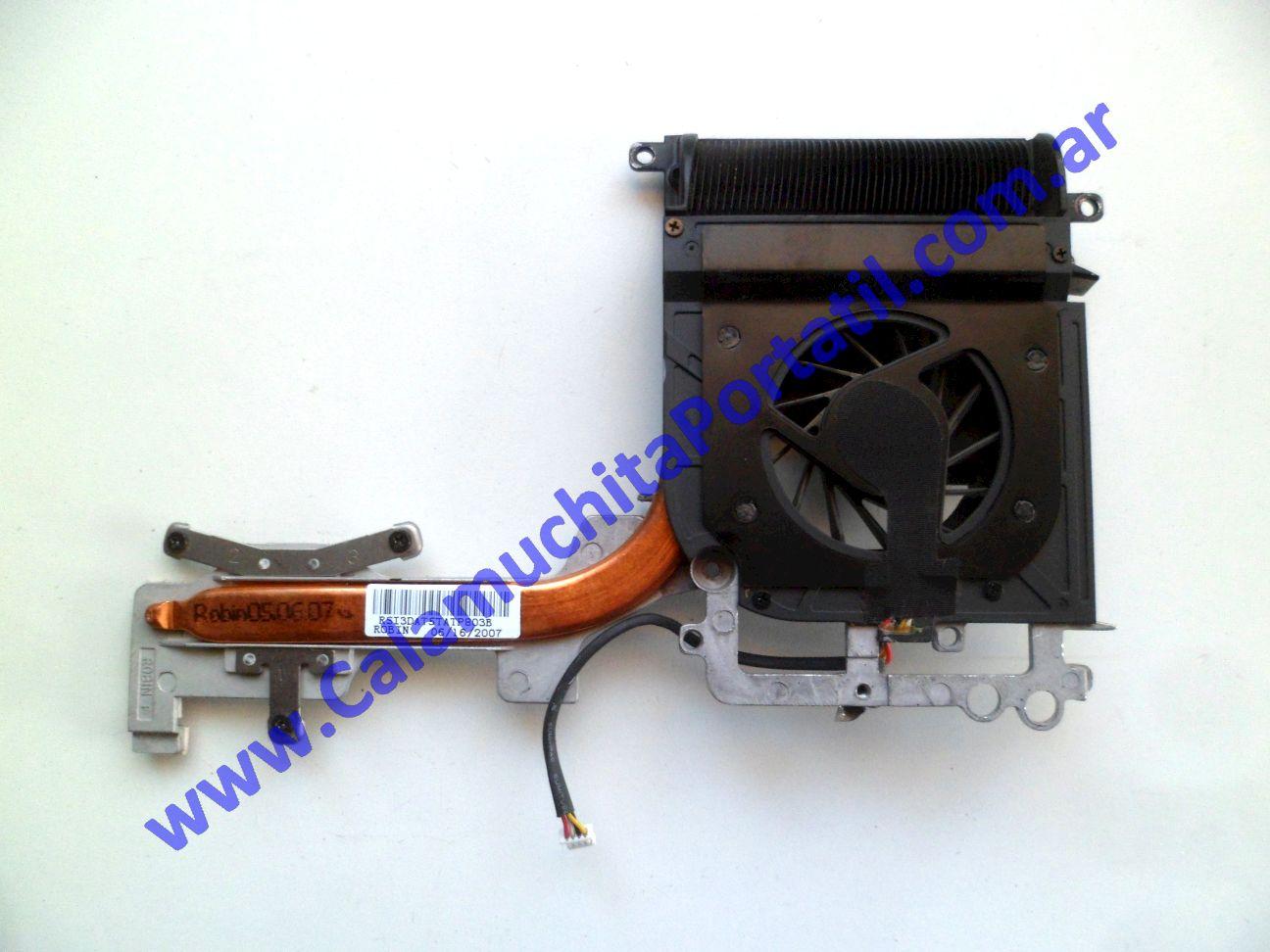 0482VDA Cooler C/Disipador Hewlett Packard Pavilion dv9500 / GA341UA#ABA