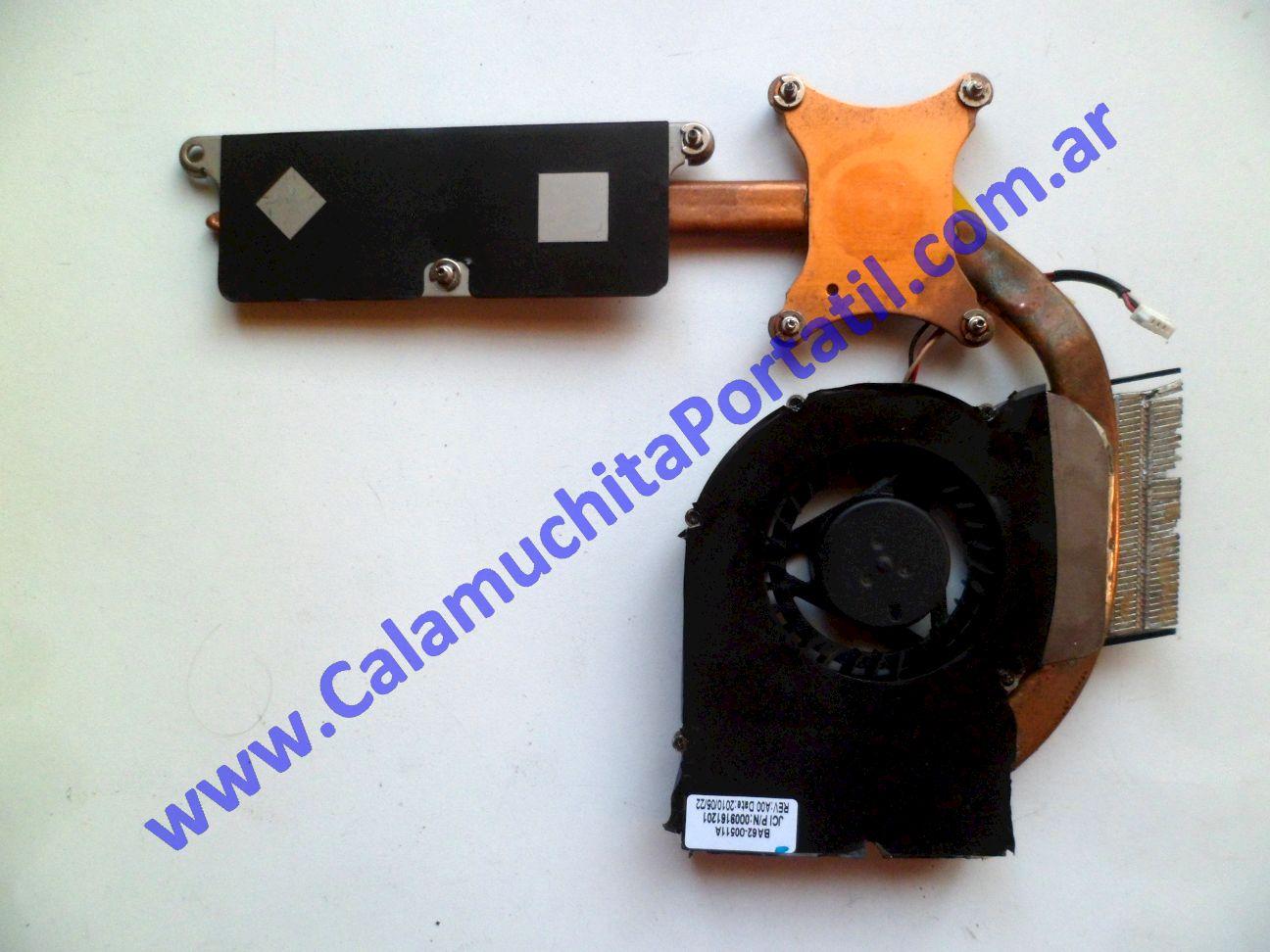0485VDA Cooler C/Disipador Samsung R430 / NP-R430-JA04AR