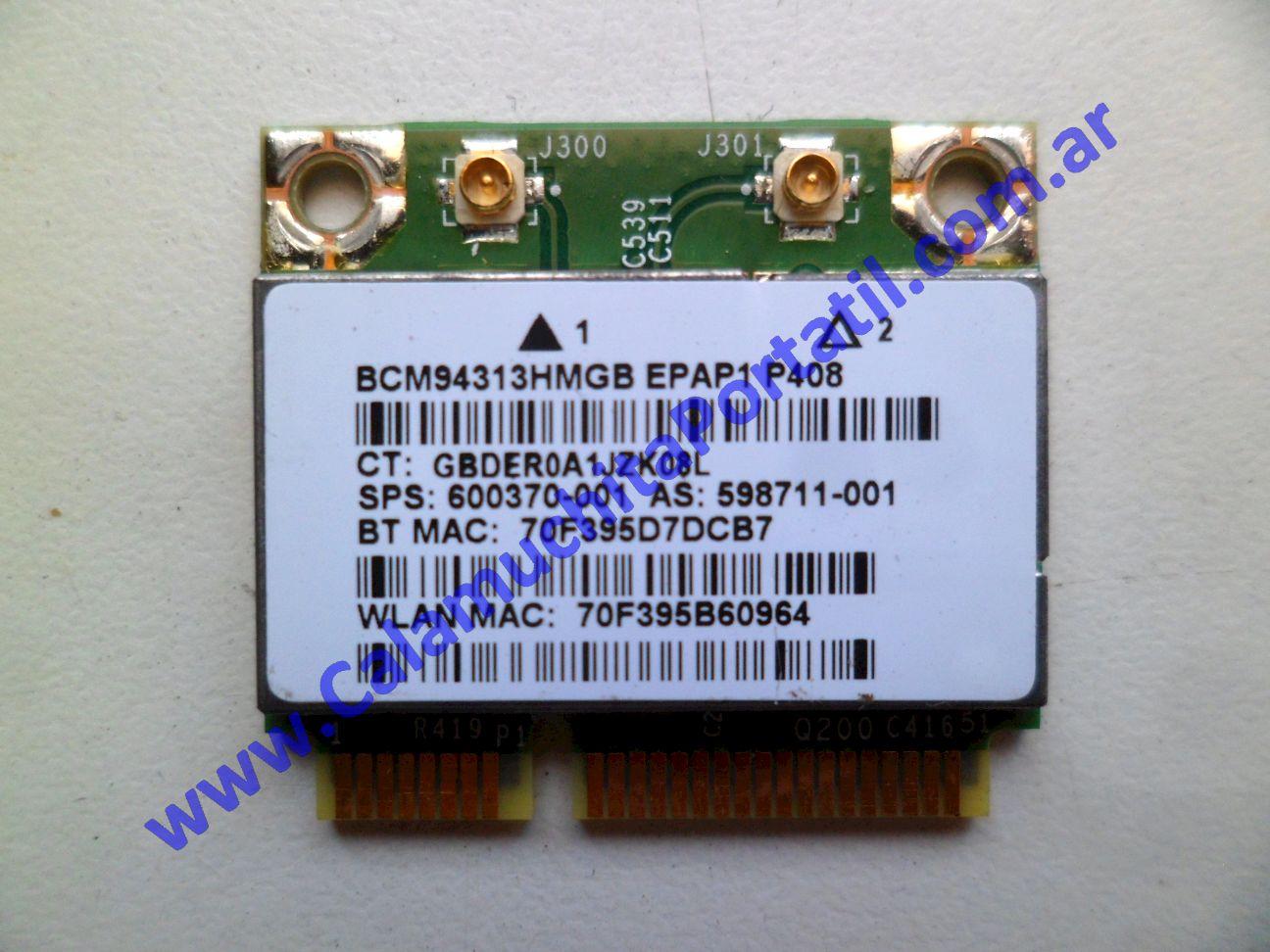 0486PWI Placa Wifi Hewlett Packard Mini 110-3120LA / XR142LA#AC8