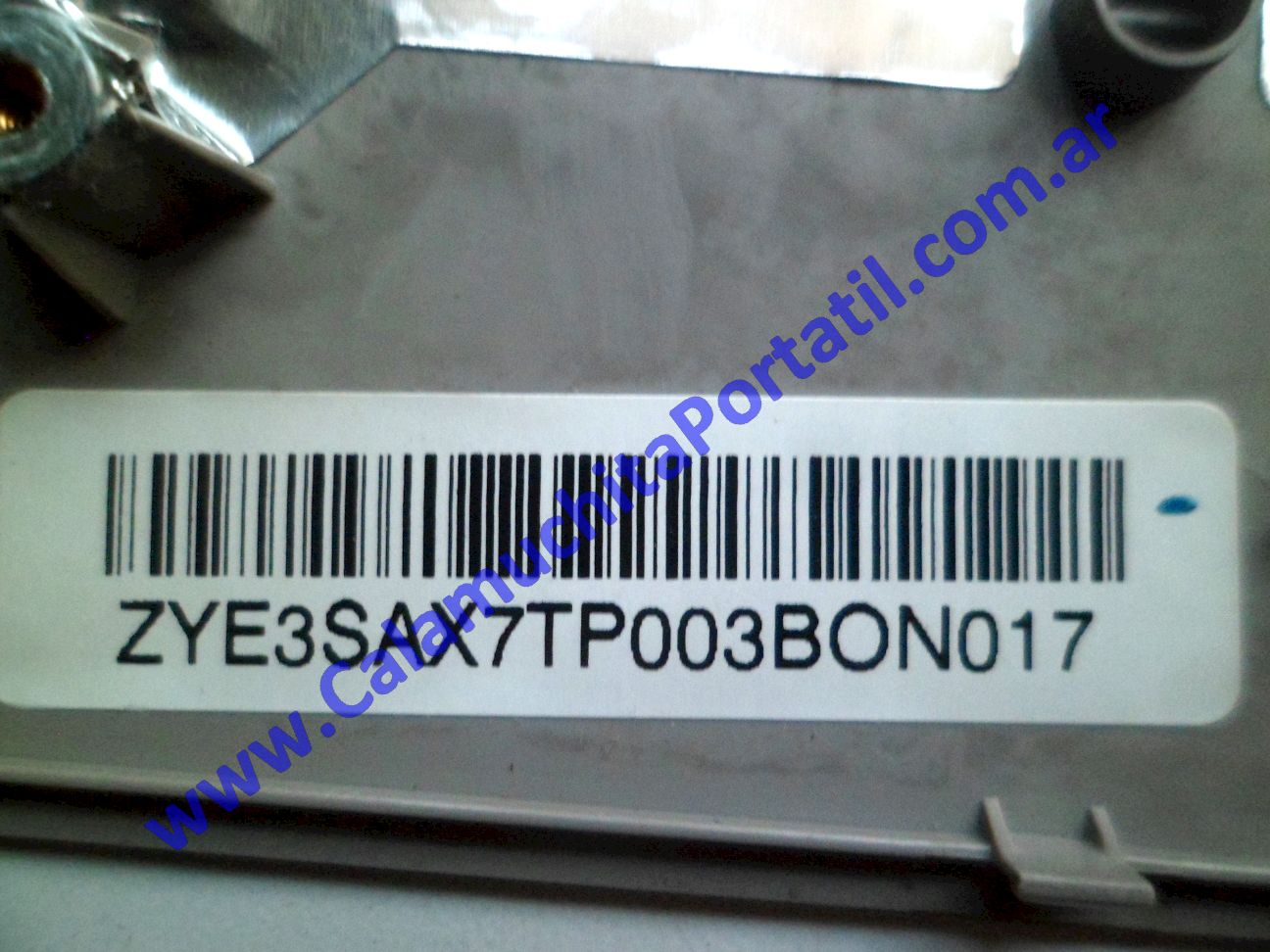0491CAC Carcasa Teclado Hewlett Packard G62-407DX / XZ267UA#ABA