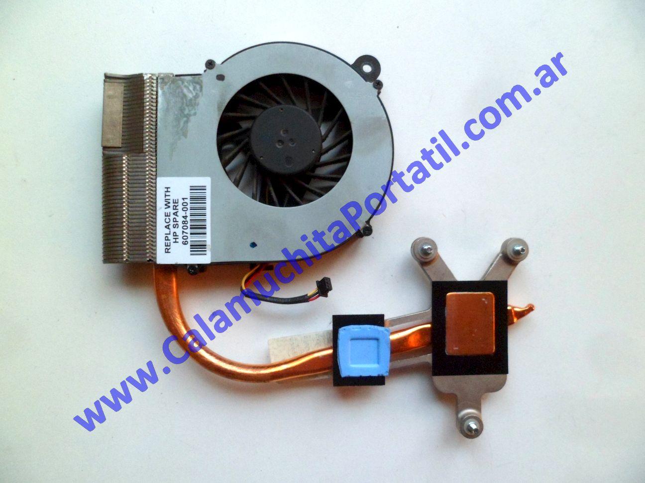 0491VDA Cooler C/Disipador Hewlett Packard G62-407DX / XZ267UA#ABA