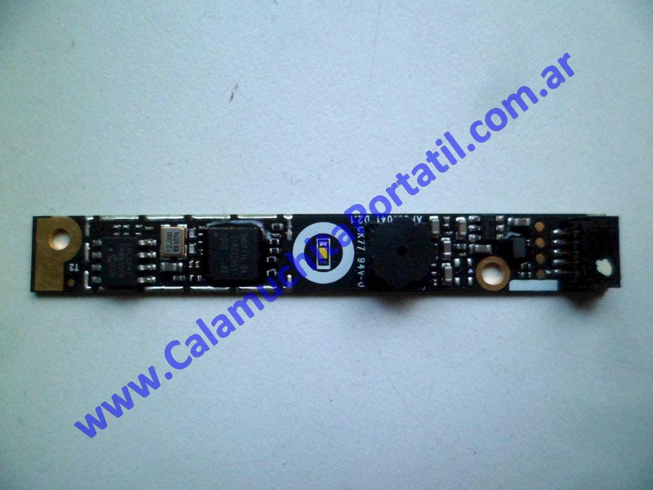 0491WEB Webcam Hewlett Packard G62-407DX / XZ267UA#ABA