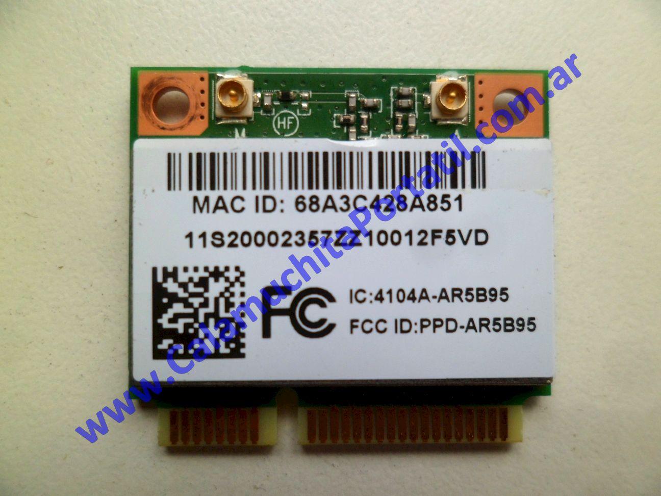 0493PWI Placa Wifi Lenovo G470 / 4328