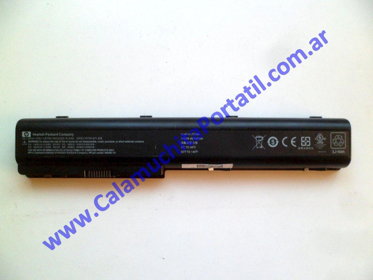 0494BAA Batería Hewlett Packard Pavillion dv7-3063cl / VM243UA#ABA