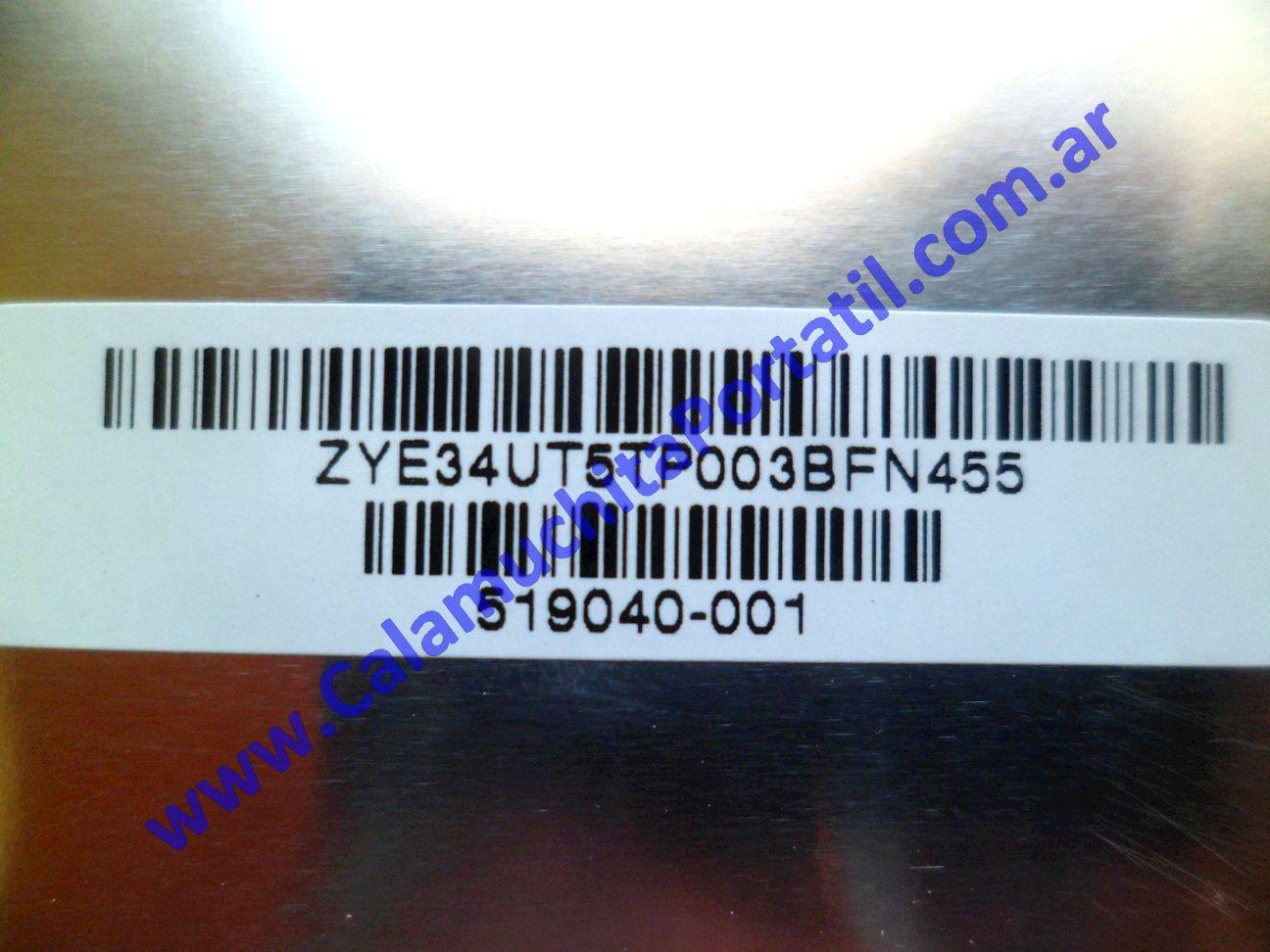 0494CAA Carcasa Tapa Hewlett Packard Pavillion dv7-3063cl / VM243UA#ABA