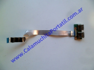 0494PUS Placa USB Hewlett Packard Pavillion dv7-3063cl / VM243UA#ABA