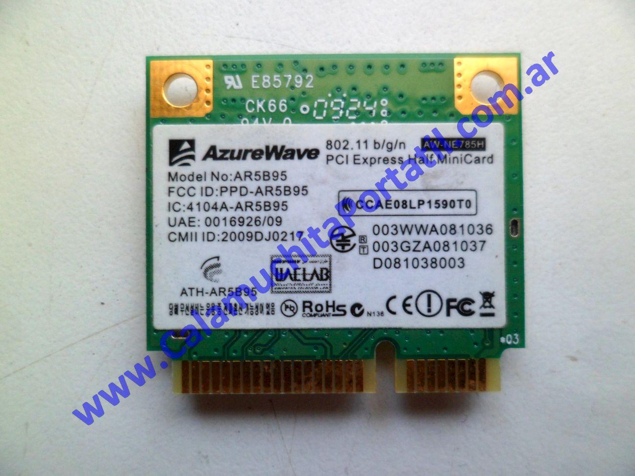 0496PWI Placa Wifi Asus EEE PC 1005HA
