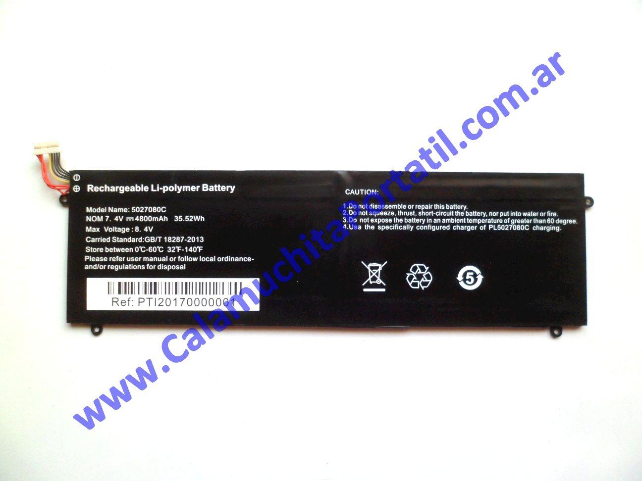 0498BAA Batería Exo Smart E13