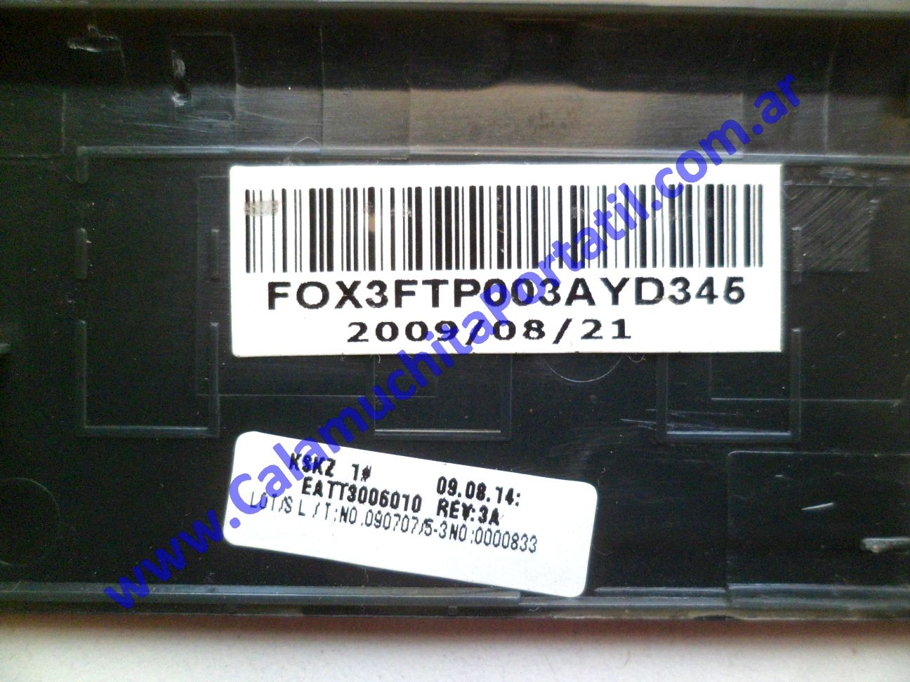 0499COA Carcasa Otra Hewlett Packard TouchSmart tx2-1380la / VS607LA#AC8