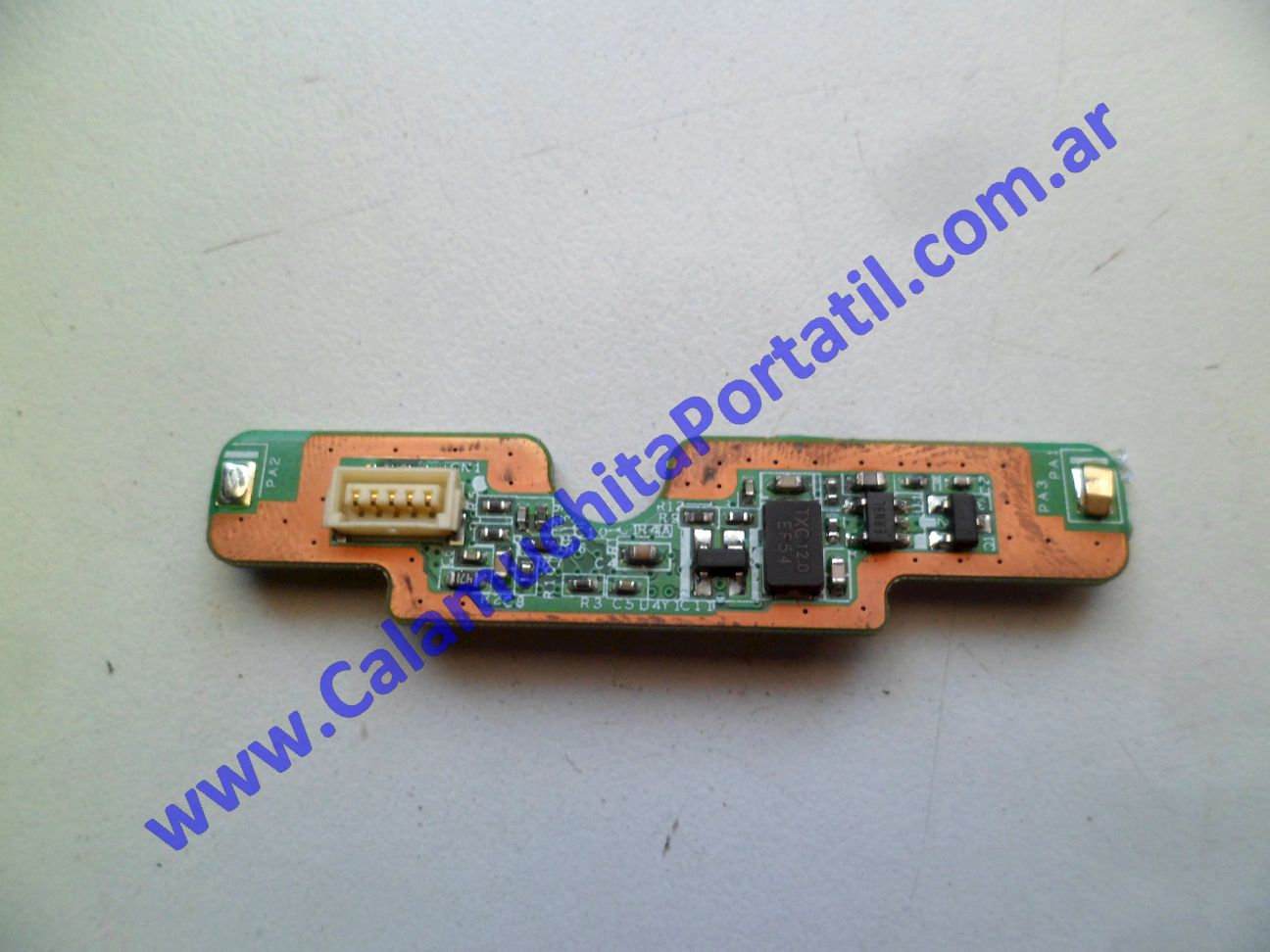 0499PFP Placa FingerPrint Hewlett Packard TouchSmart tx2-1380la / VS607LA#AC8