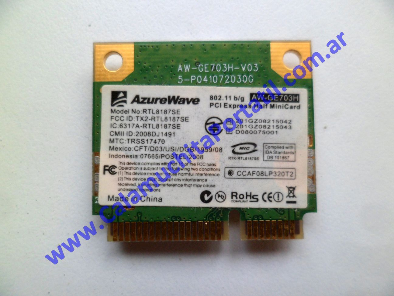 0500PWI Placa Wifi CX 3G Ready
