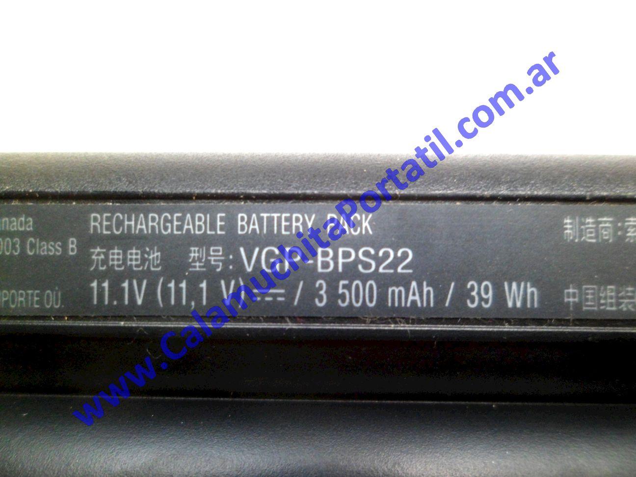 0503BAA Batería Sony Vaio VPCEE43EL / PCG-61611U
