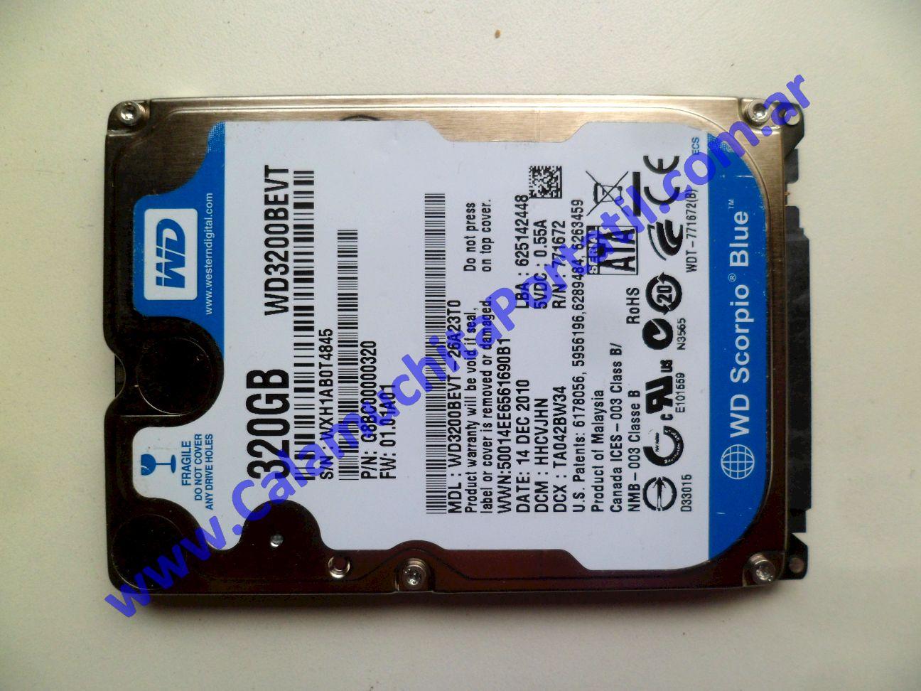 0503HDA Disco Rígido Sony Vaio VPCEE43EL / PCG-61611U