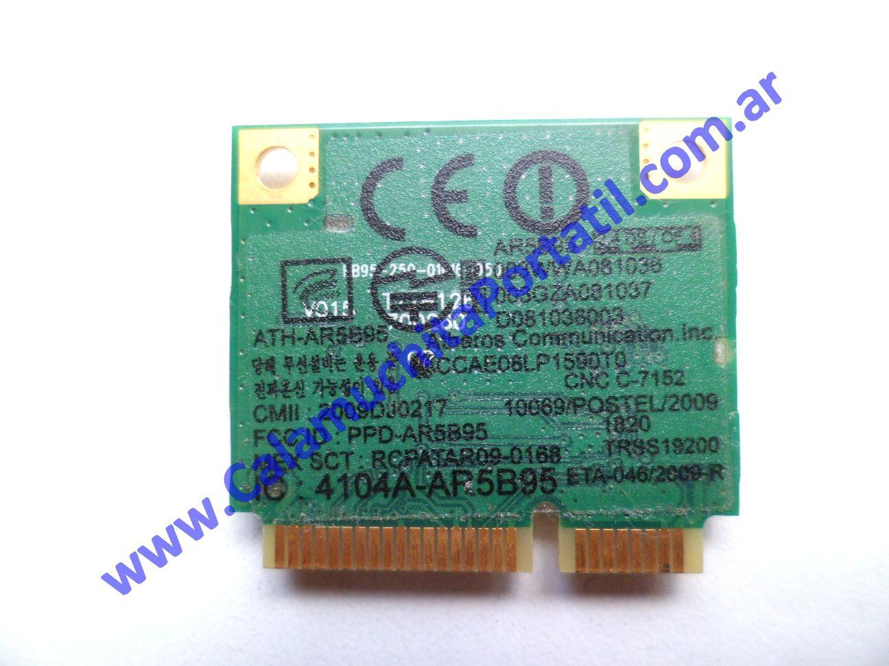 0503PWI Placa Wifi Sony Vaio VPCEE43EL / PCG-61611U