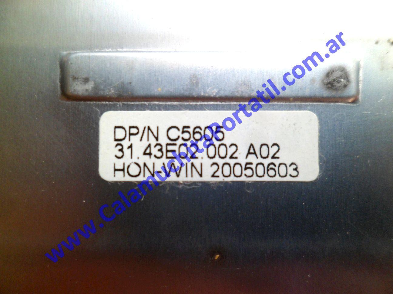 0504CAC Carcasa Teclado Dell Inspiron 700m / PP07S