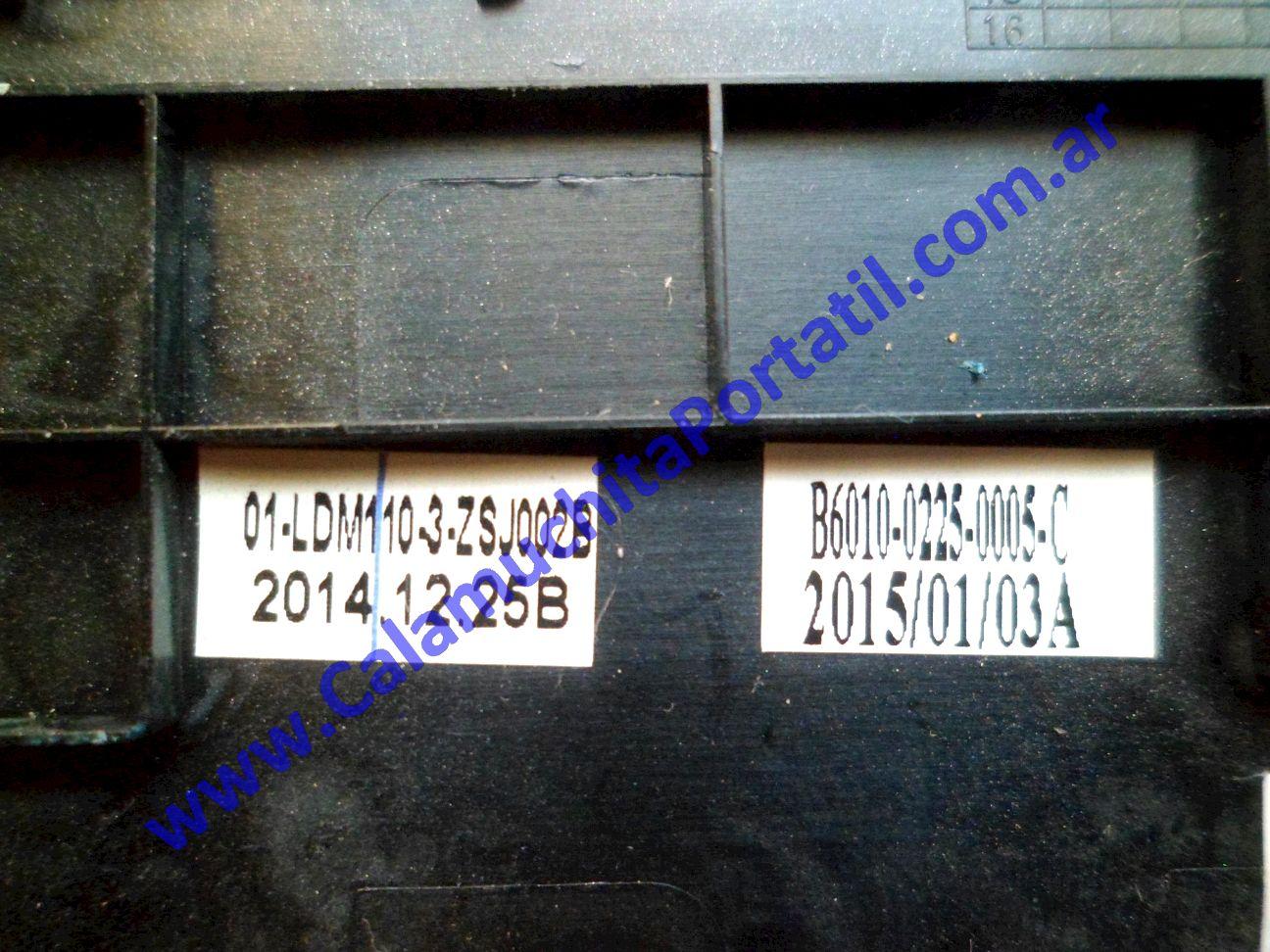 0510CAC Carcasa Teclado Noblex NB1101