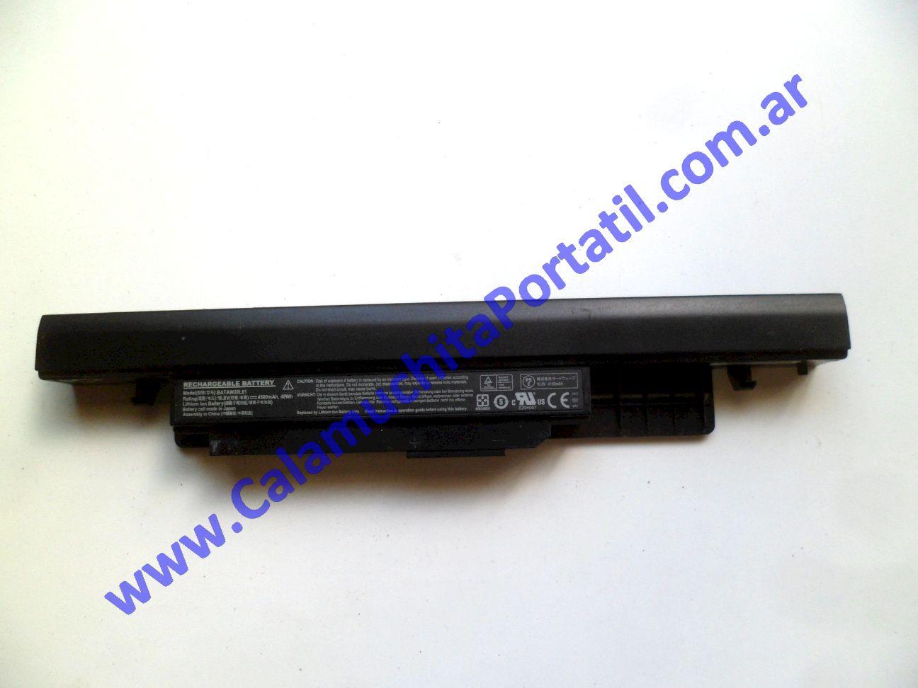 0511BAA Batería KenBrown PCW20