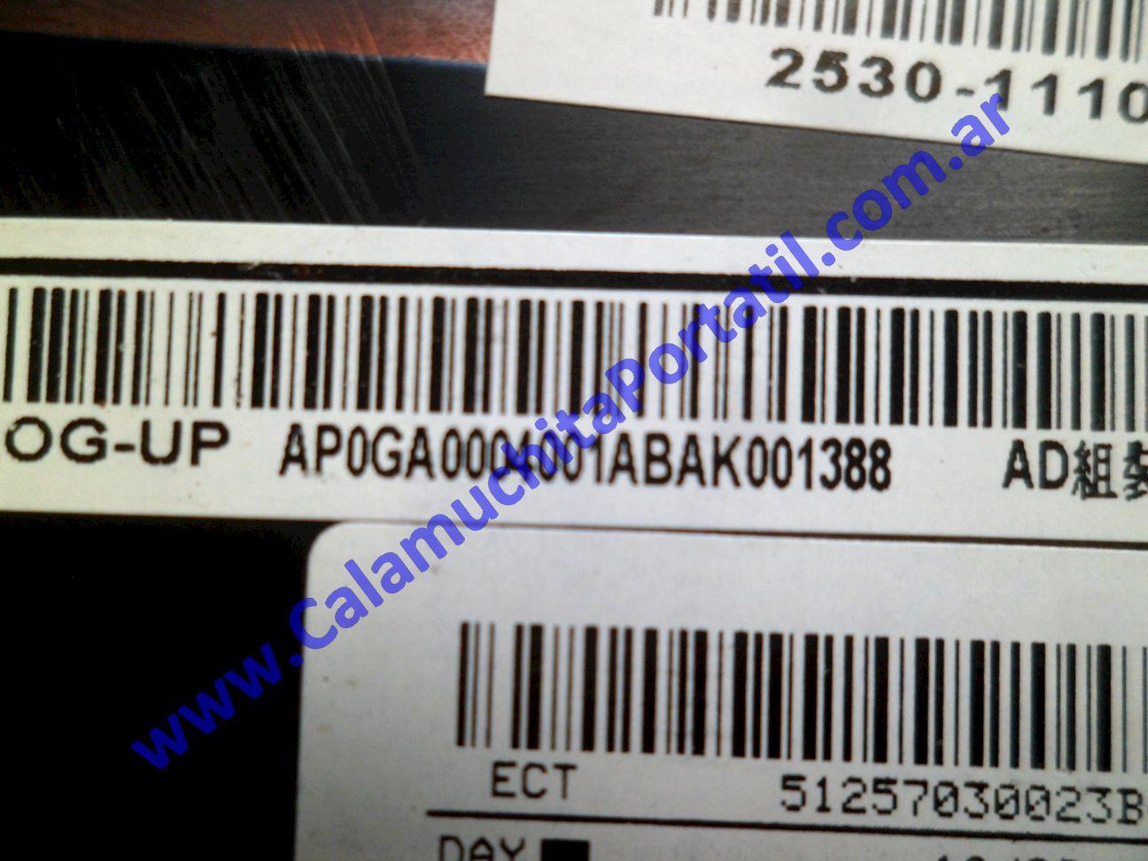 0511CAC Carcasa Teclado KenBrown PCW20