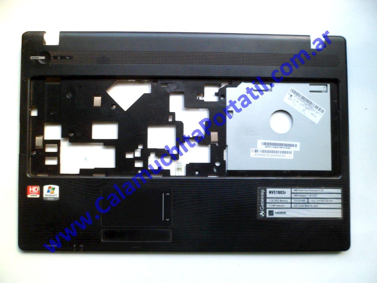 0512CAC Carcasa Teclado Gateway NV51B02R / P5WS6