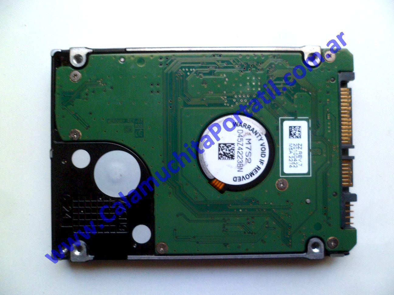 0513HDA Disco Rígido Hewlett Packard Pavilion dv6-3243cl / XZ091UA#ABA