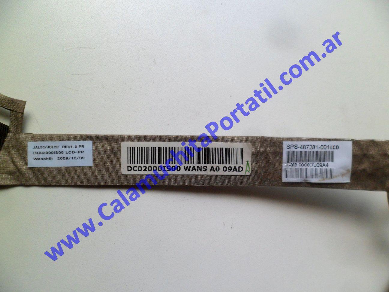 0514FVI Flex Video Hewlett Packard Presario CQ40-600LA / VS569LA#AC8