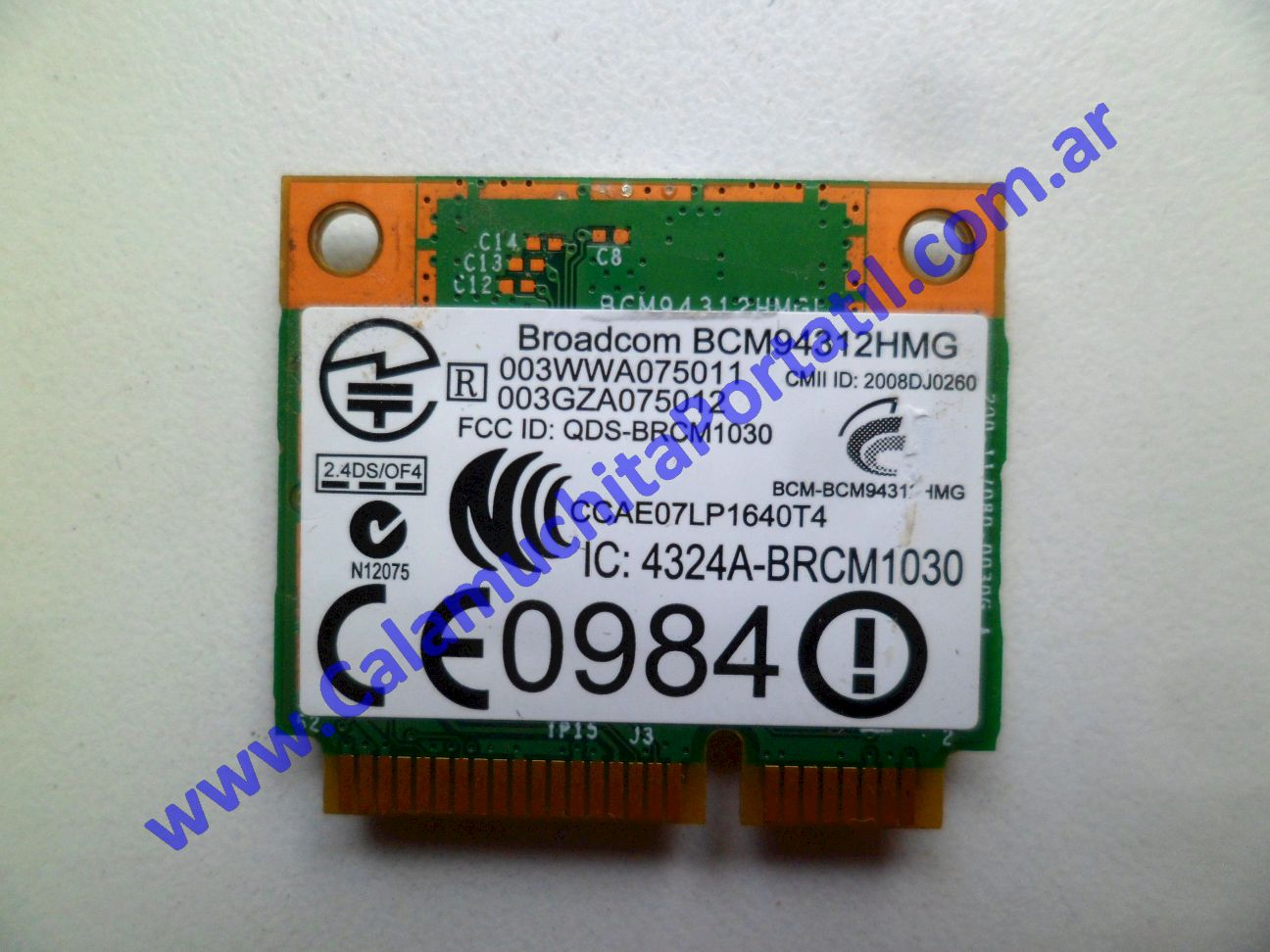 0514PWI Placa Wifi Hewlett Packard Presario CQ40-600LA / VS569LA#AC8