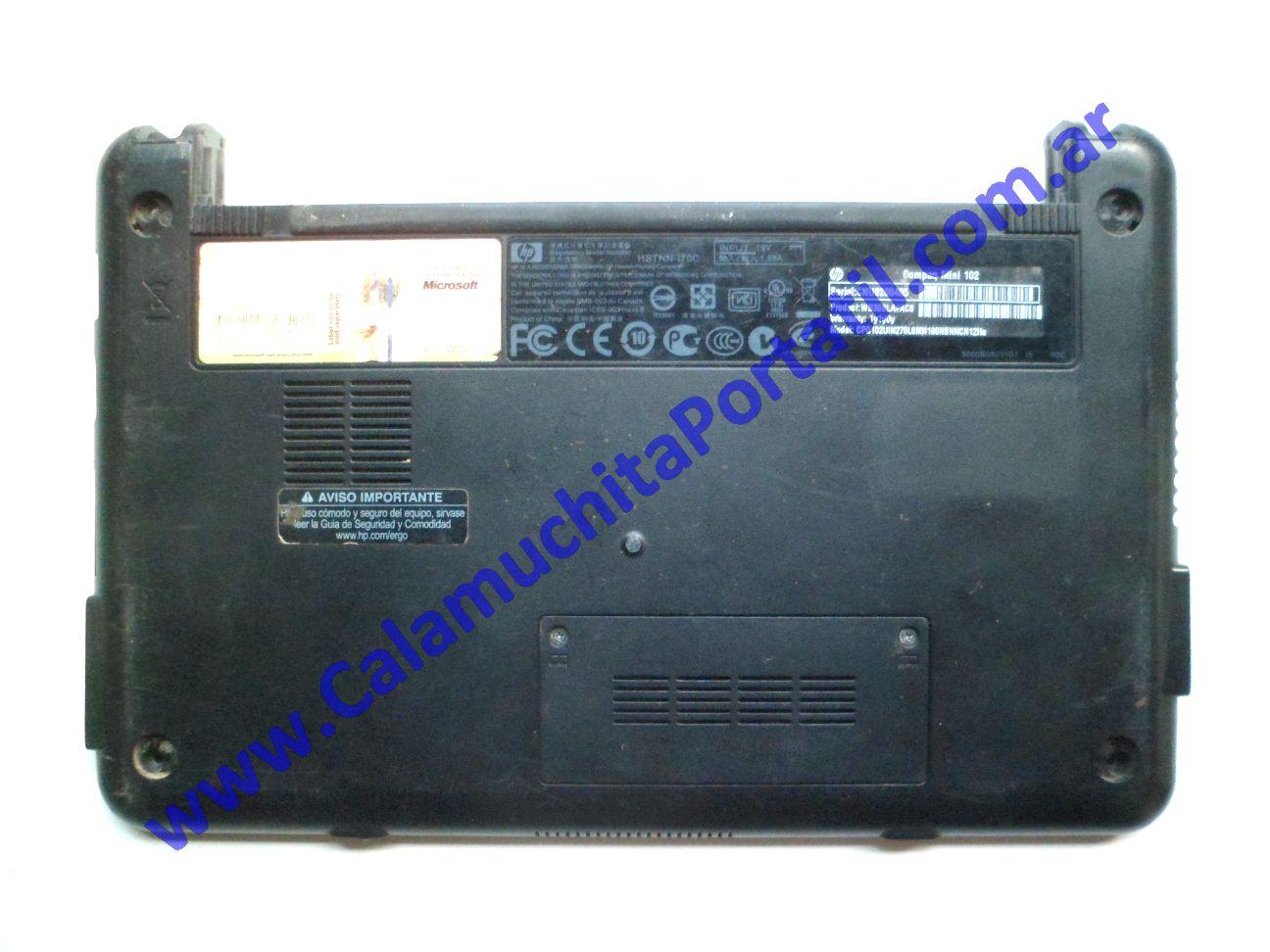 0516CAD Carcasa Base Compaq Mini 102 / WS308LA·AC8