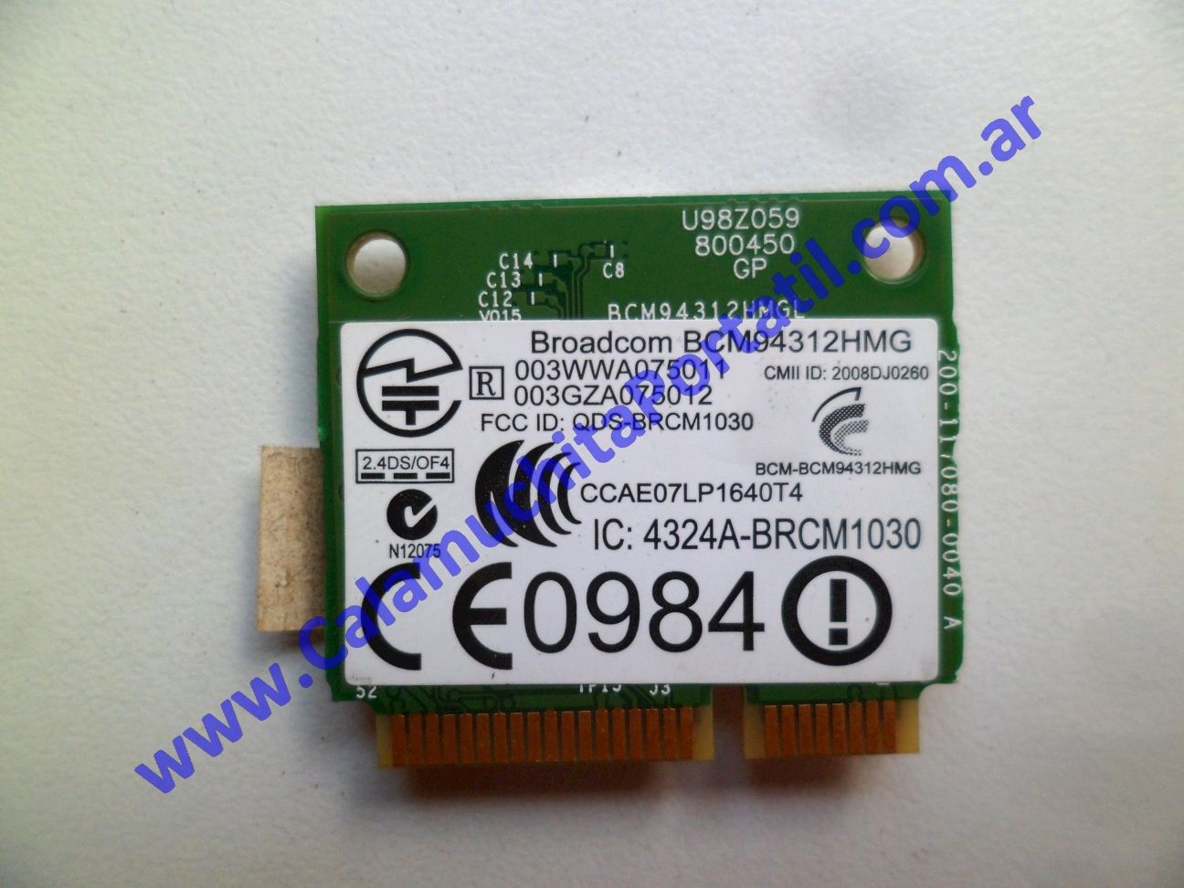 0516PWI Placa Wifi Compaq Mini 102 / WS308LA·AC8