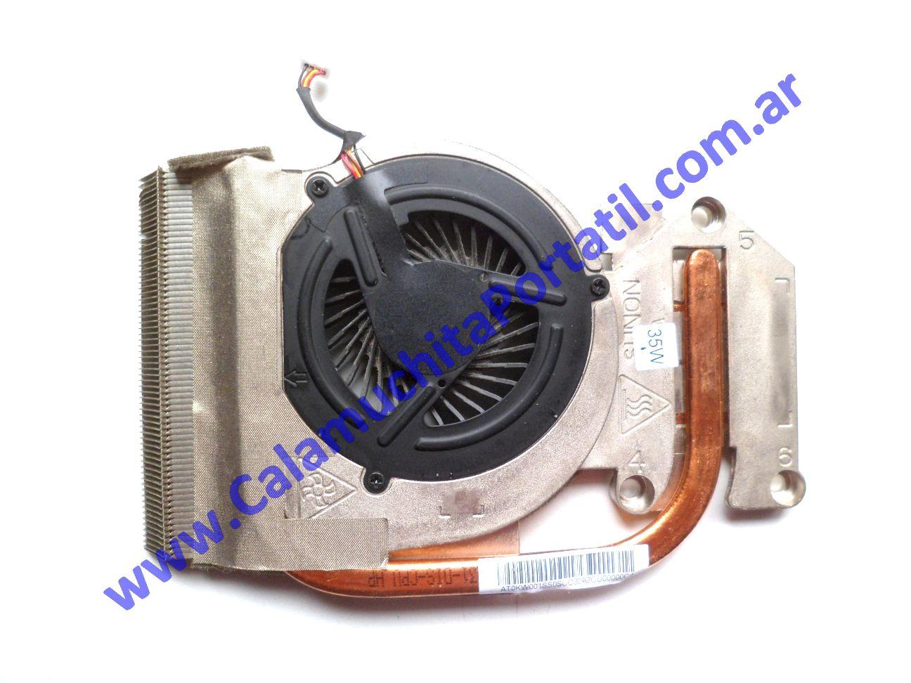 0518VDA Cooler C/Disipador Kelix QAL50