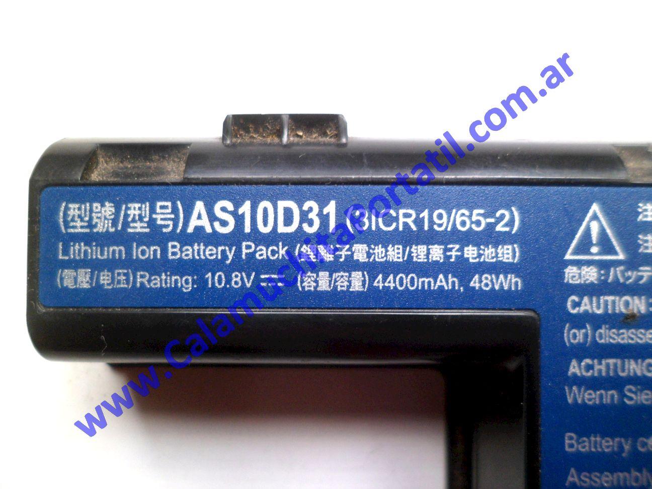 0521BAA Batería Acer Aspire 5251-1779 / NEW75