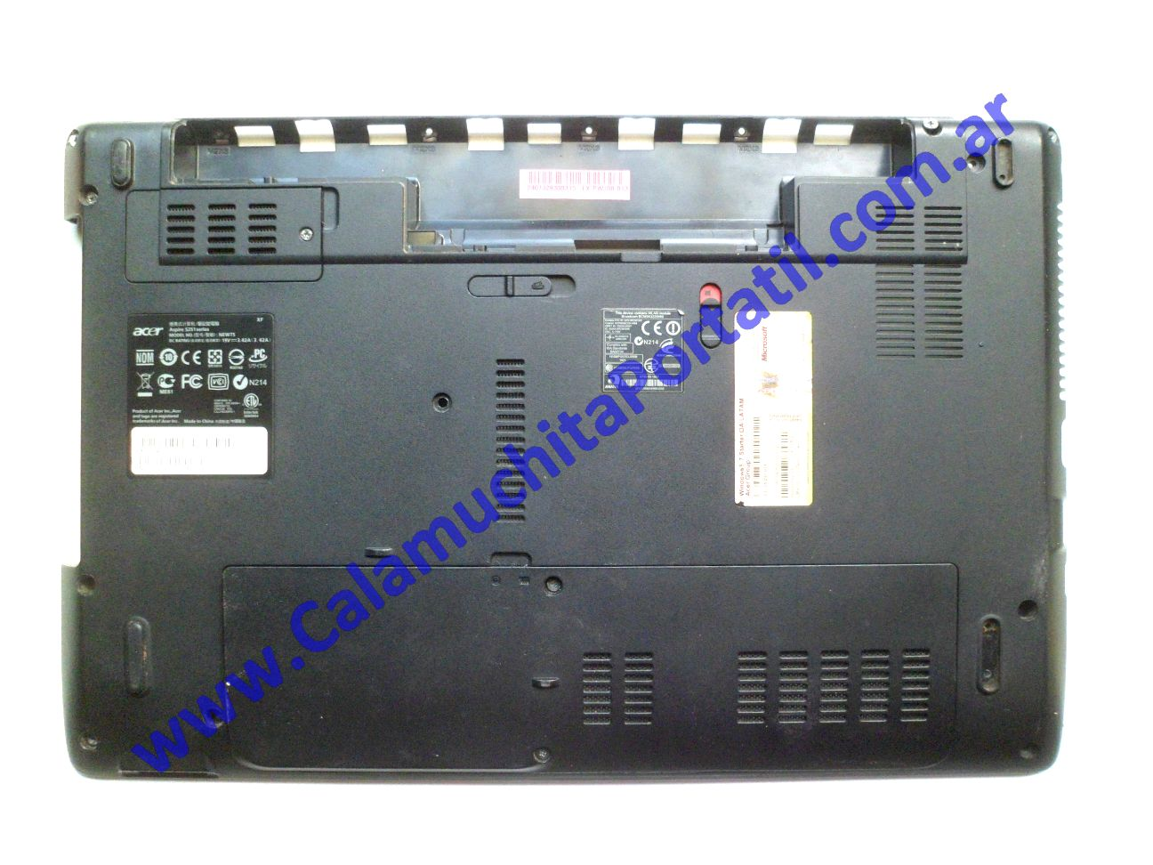 0521CAD Carcasa Base Acer Aspire 5251-1779 / NEW75