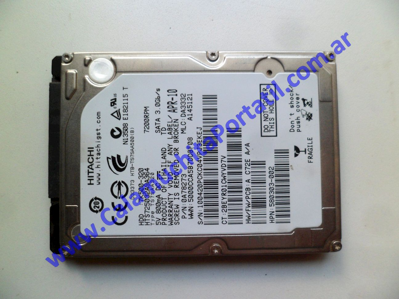 0522HDA Disco Rígido Hewlett Packard HP 425 / XD057LA#AC8