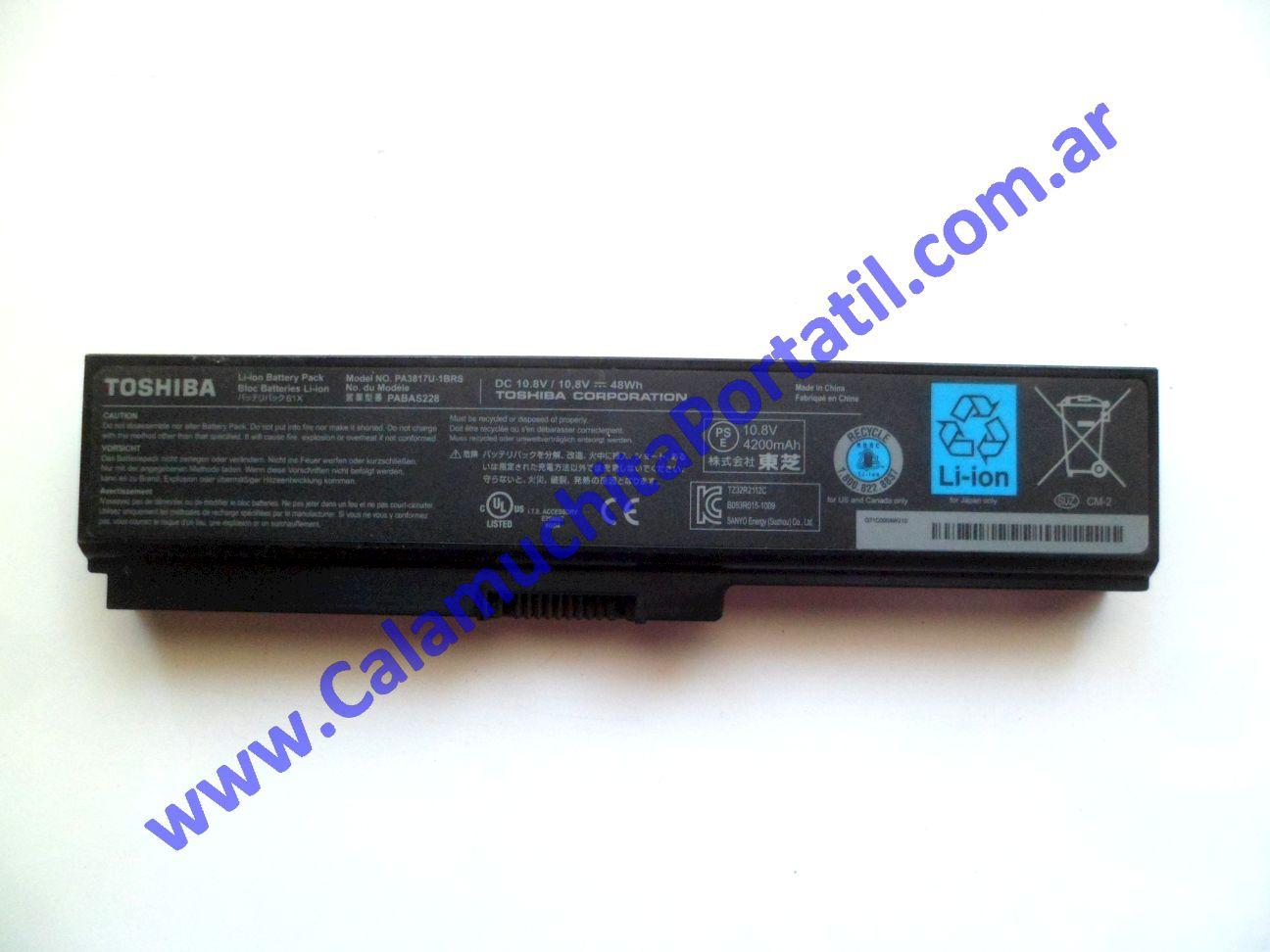 0523BAA Batería Toshiba Satellite C655D-S5529 / PSC0YU-0415M