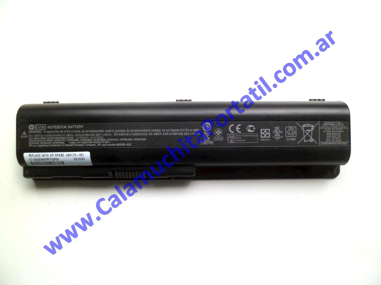 0525BAA Batería Hewlett Packard Pavilion dv4-2111la / WR358LA#ABM