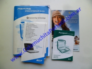 0527AMA Manual Acer Aspire 5720z / ICL50