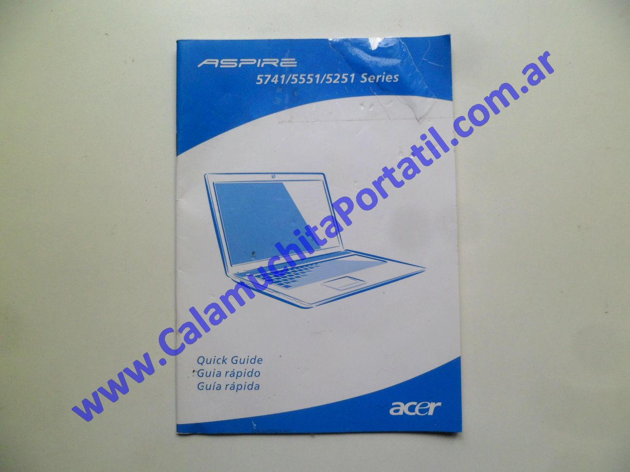 0528AMA Manual Acer Aspire 5251-1779 / NEW75