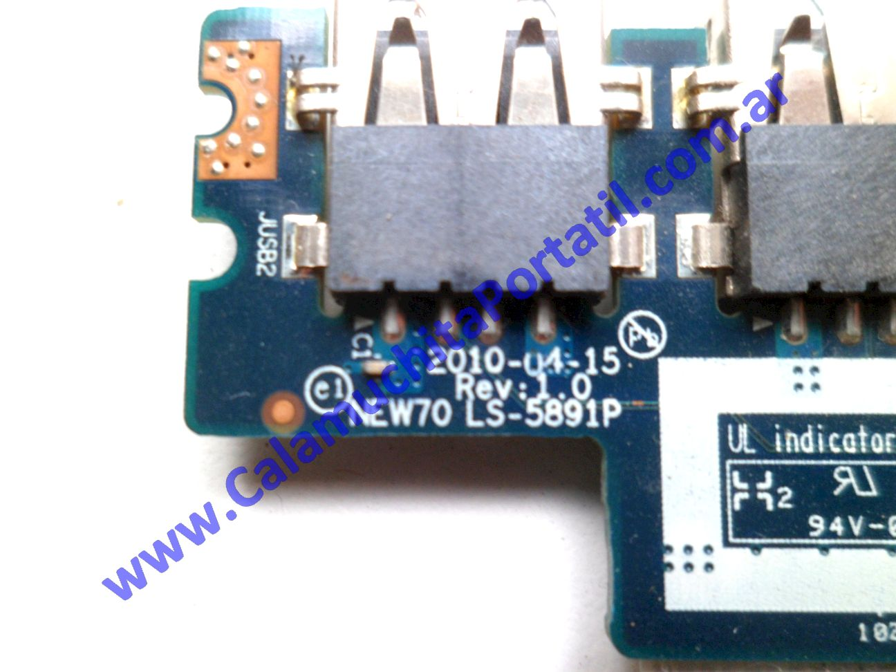 0528PUS Placa USB Acer Aspire 5251-1779 / NEW75