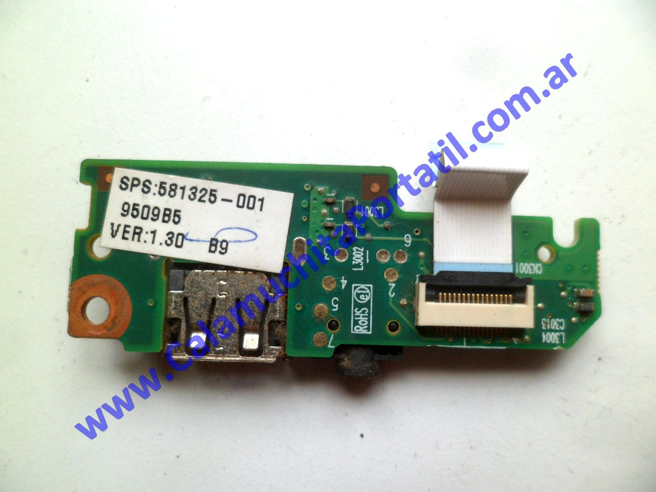 0529PUS Placa USB Hewlett Packard Mini 110-1150LA / VU376LA#ABM