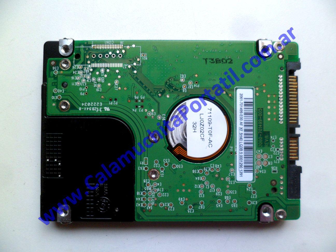 0530HDA Disco Rígido Acer Aspire One D255E-13635 / PAV70
