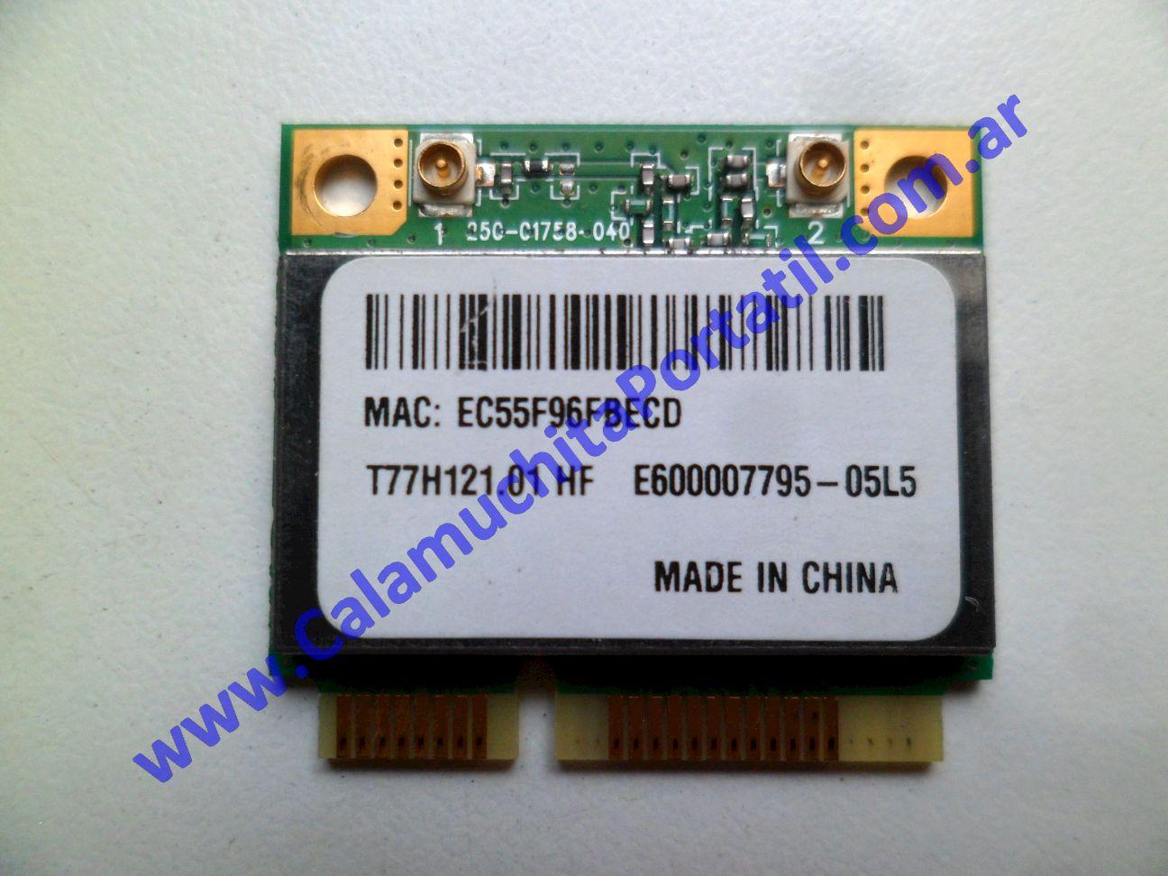 0530PWI Placa Wifi Acer Aspire One D255E-13635 / PAV70