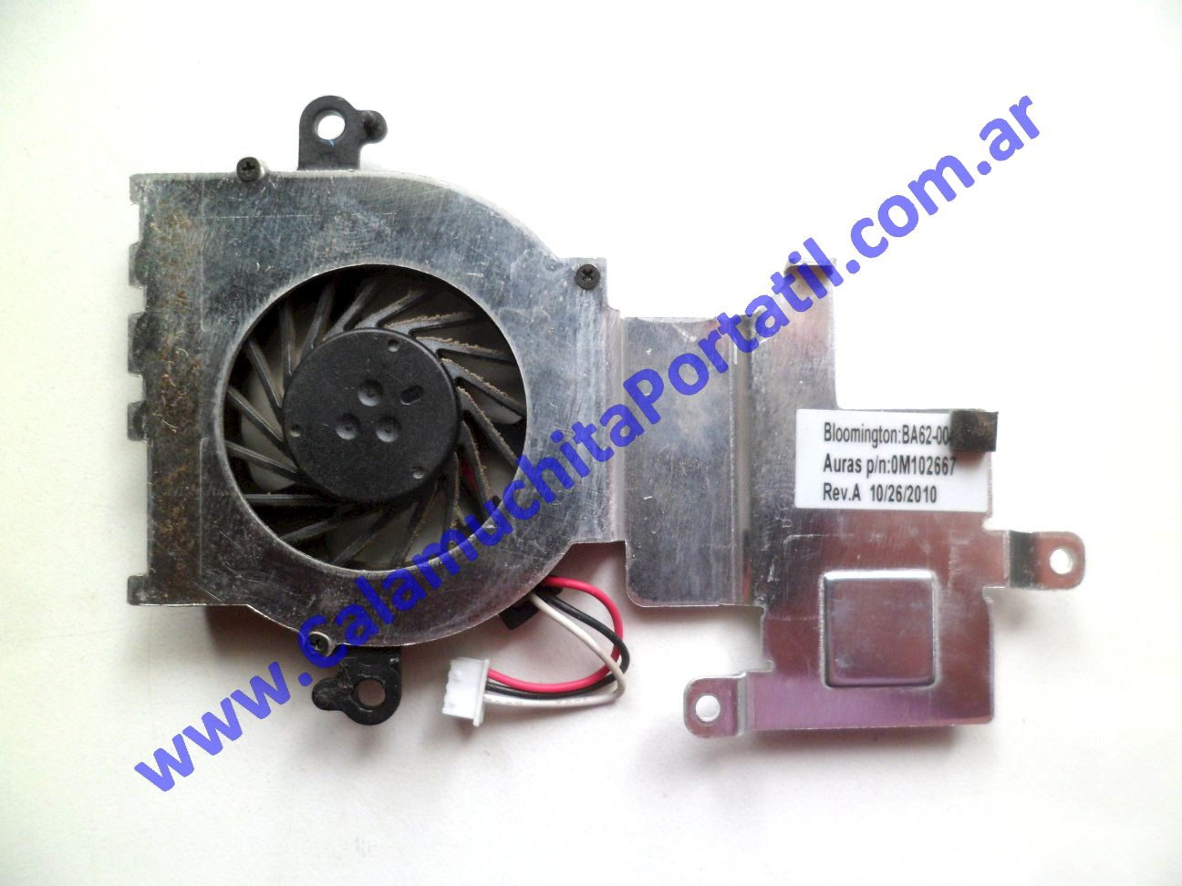 0531VDA Cooler C/Disipador Samsung N210 Plus / NP-N210-JP01AR
