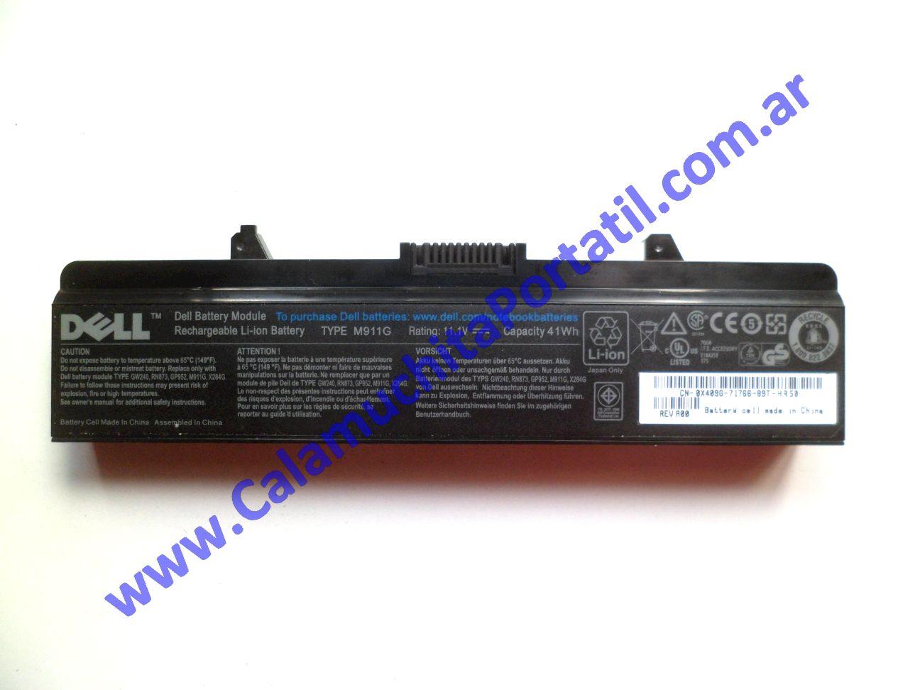 0532BAA Batería Dell Inspiron 1525 / PP29L